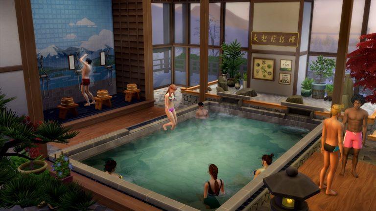 The Sims 4 Oasi Innevata espansione
