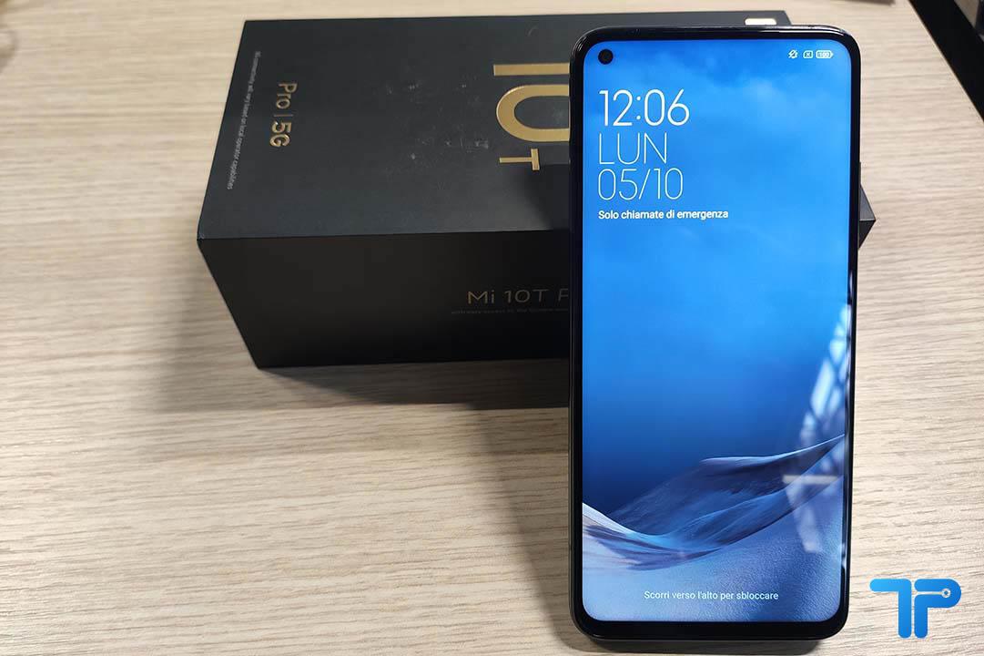 Xiaomi Mi 10T Pro fronte
