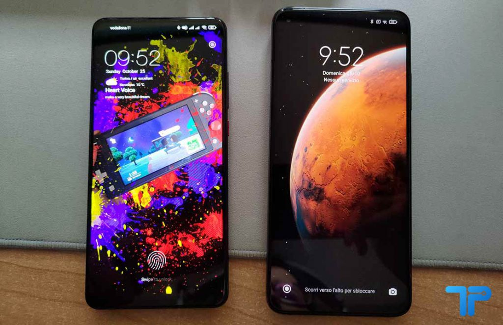 Xiaomi Mi 10T Pro vs Xiaomi Mi 9T Pro blocco