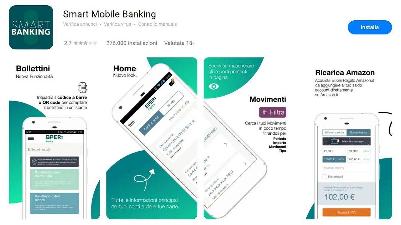 BPER Banca: l'applicazione ufficiale arriva su App Gallery di Huawei thumbnail
