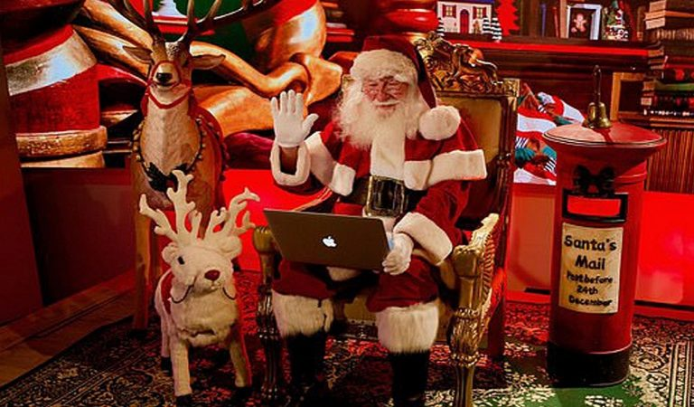 Babbo Natale quest'anno arriva su Zoom