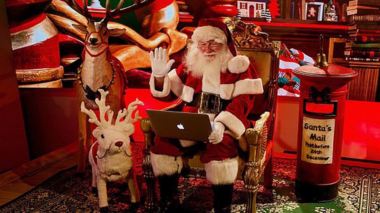 Babbo Natale quest'anno arriva su Zoom thumbnail
