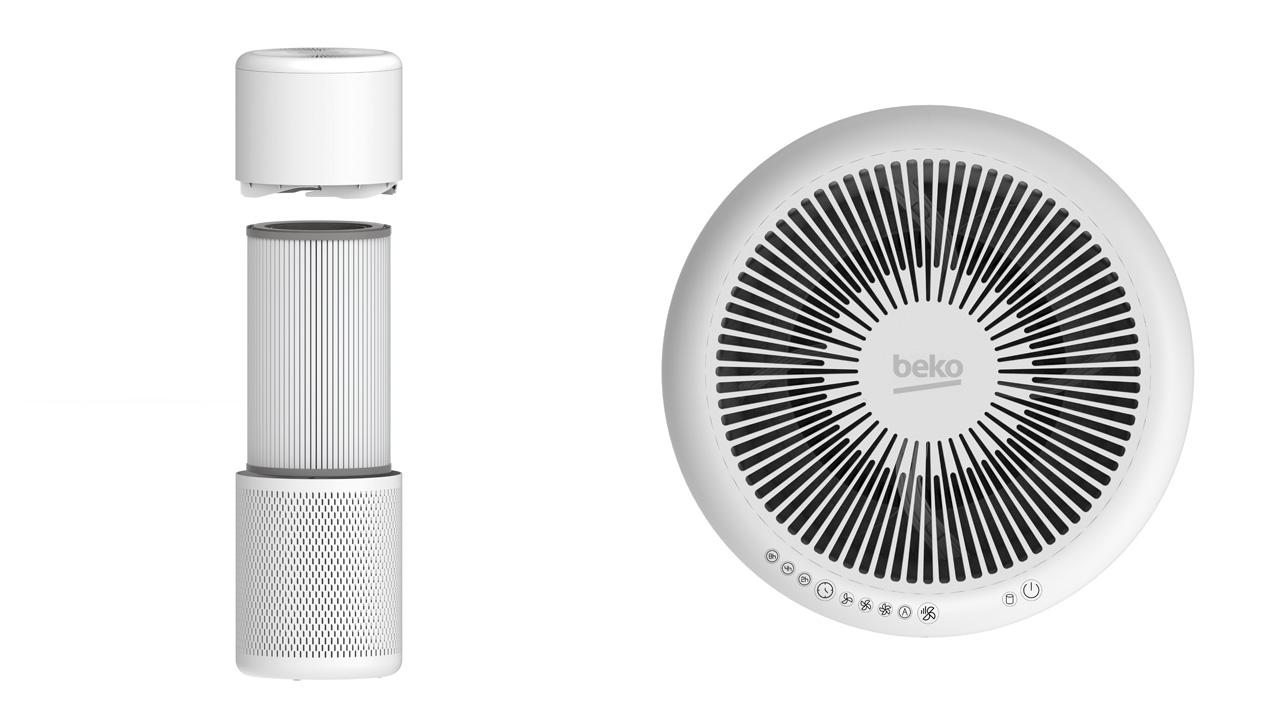 beko purificatori d'aria filtri interni