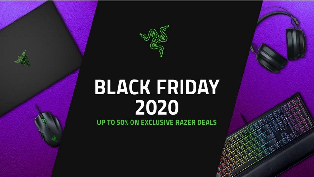 Il Black Friday di Razer parte oggi con offerte dal mondo gaming thumbnail
