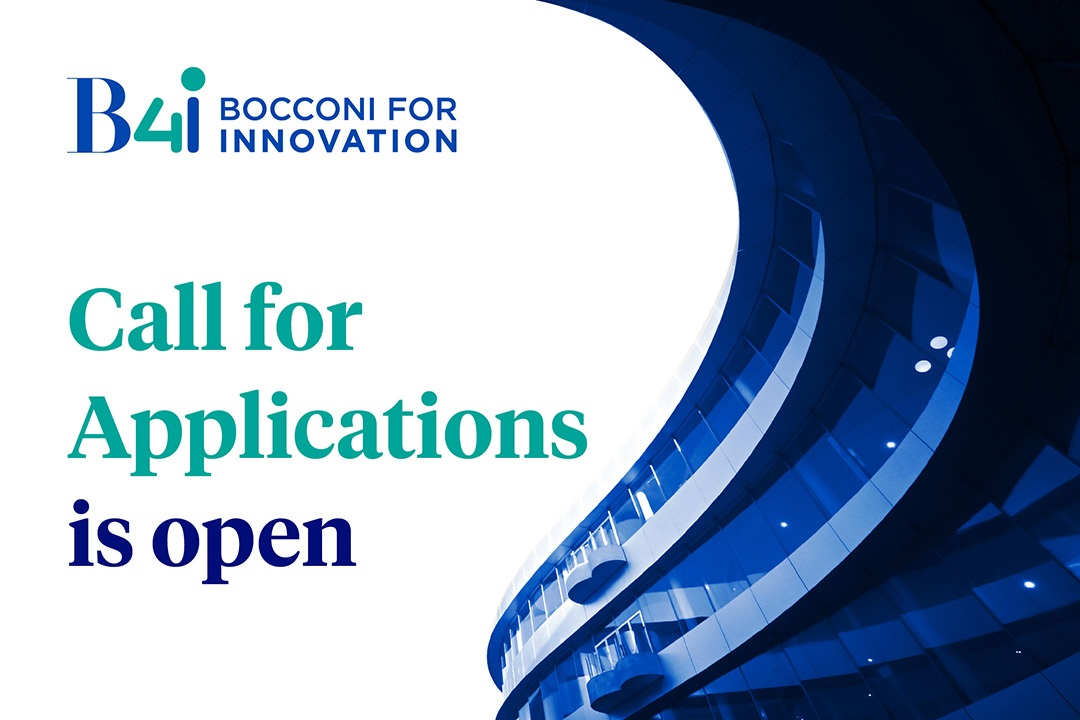 Prende il via la terza Bocconi for Innovation Startup Call thumbnail