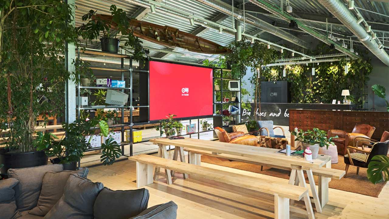 Le soluzioni innovative di LG all'interno del nuovo campus di H Farm thumbnail