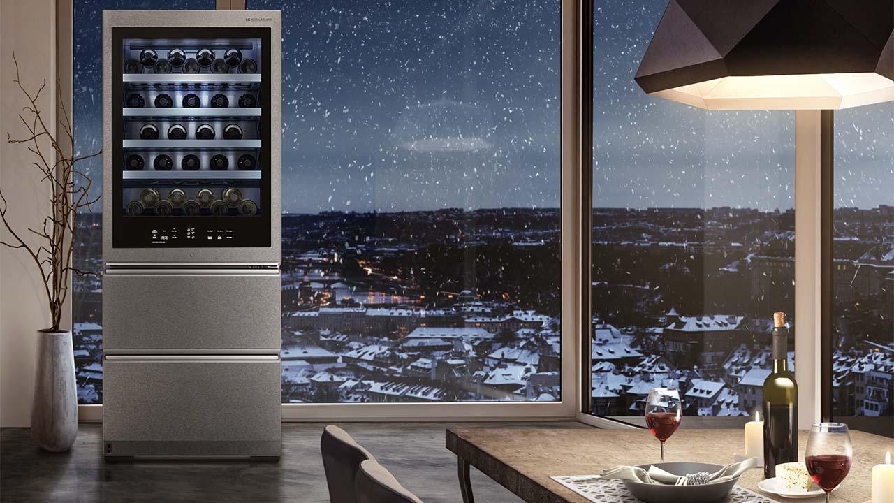 LG SIGNATURE promuove l'eccellenza italiana e presenta la nuova Cantinetta per vini thumbnail