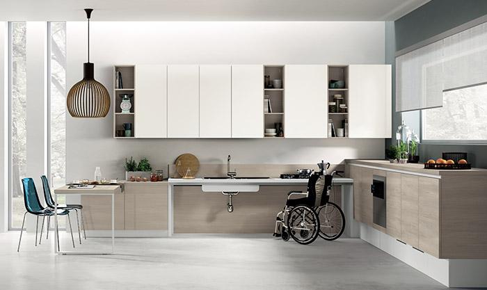 cucina disabili domotica