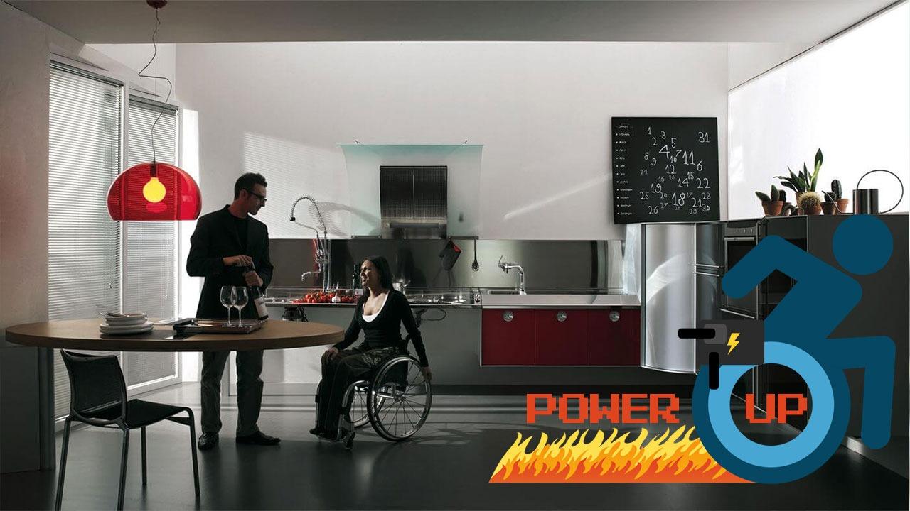 Funzionalità ed eleganza in una cucina pensata per disabili | Power-Up thumbnail
