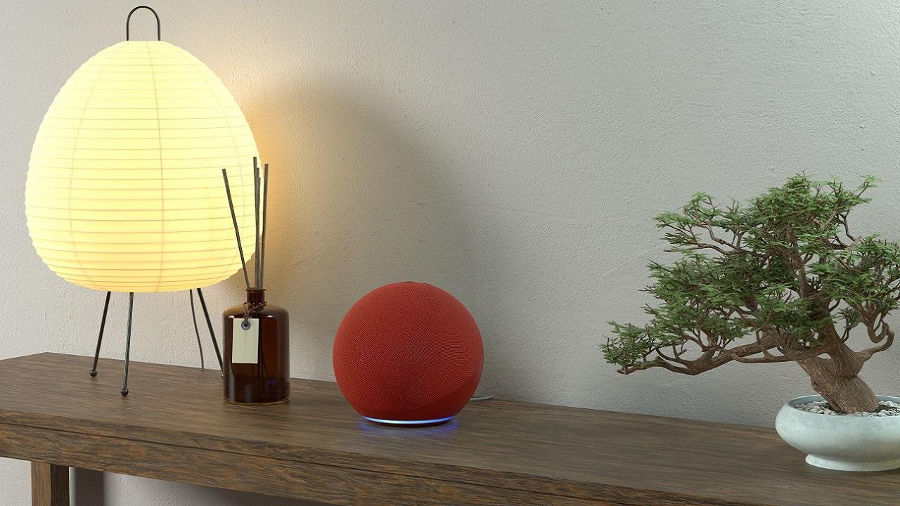 Amazon Echo RED edition: lo smart speaker si colora di rosso per sconfiggere i virus thumbnail