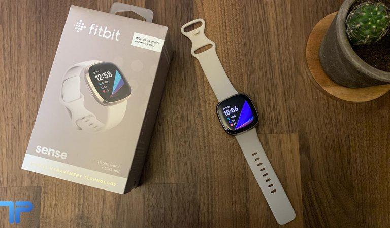 Recensione Fitbit Sense: è intelligente ma a volte non si applica