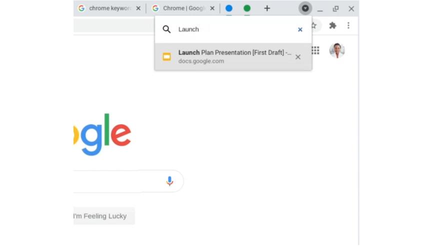 google chrome aggiornamento schede