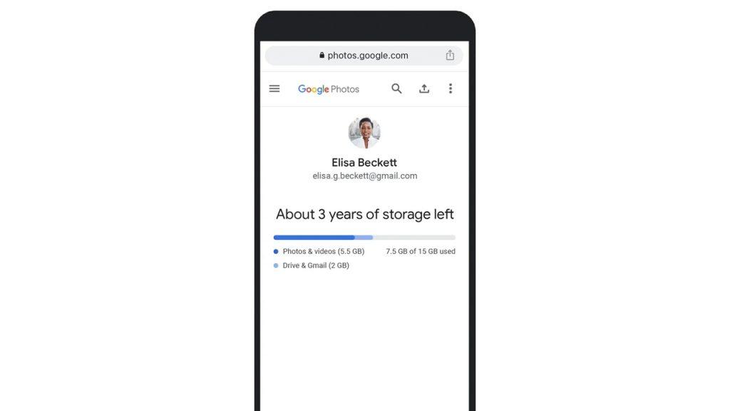 google foto stop spazio archiviazione illimitato