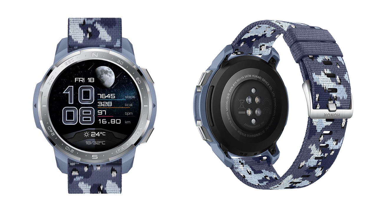 HONOR Watch GS Pro ora è disponibile con il nuovo cinturino Camo Blue thumbnail