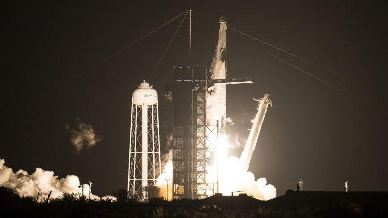 lancio spacex nasa iss-min
