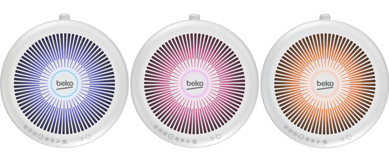 led indicatore qualità aria beko