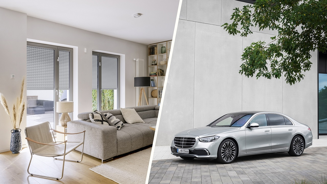 Mercedes-Benz Classe S: tra le funzioni anche l'integrazione con Bosch Smart Home thumbnail