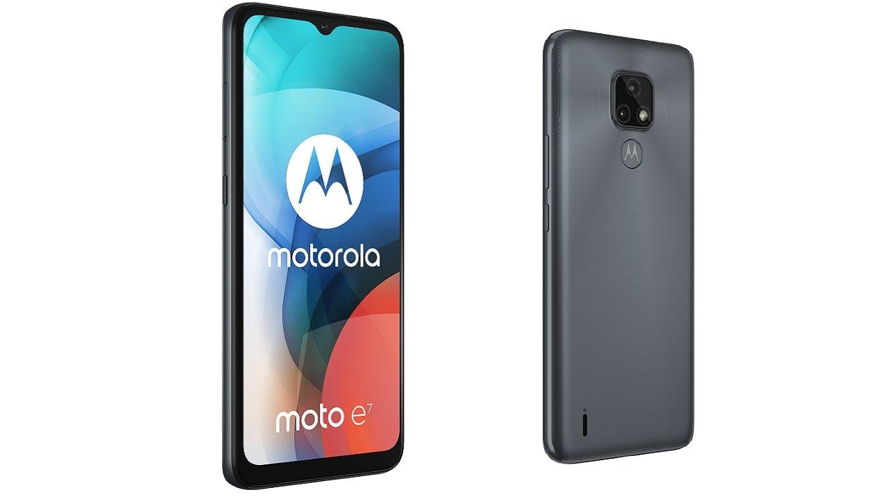 Motorola presenta il suo nuovo smartphone Moto E7 thumbnail