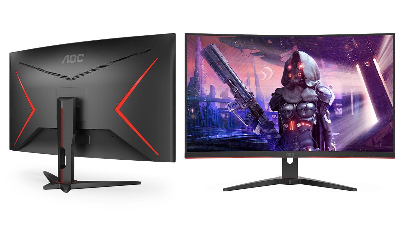 AOC lancia due nuovi monitor da gaming curvi thumbnail