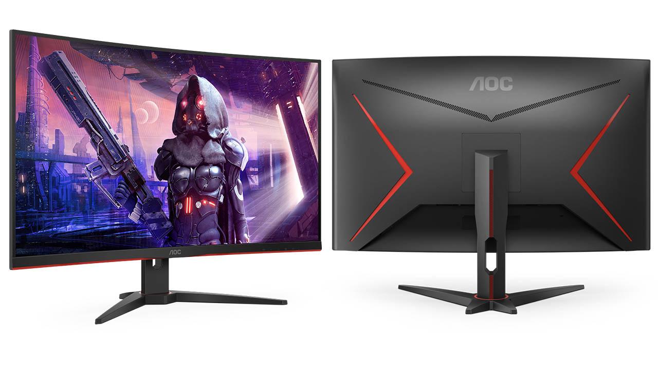 nuovo monitor gaming AOC CQ32G2SE
