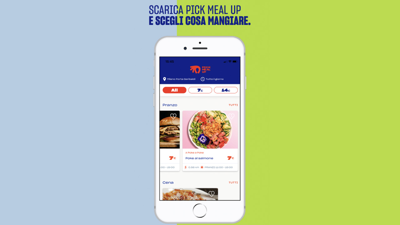 pick meal up cibo da asporto