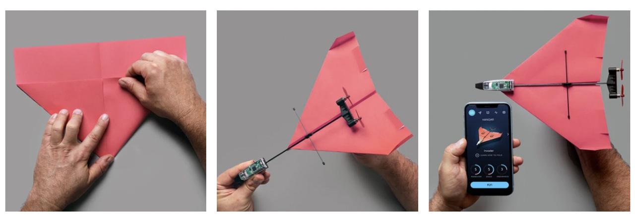 powerup aeroplanini di carta