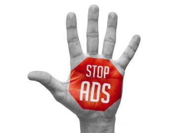pubblicità indesiderata Google