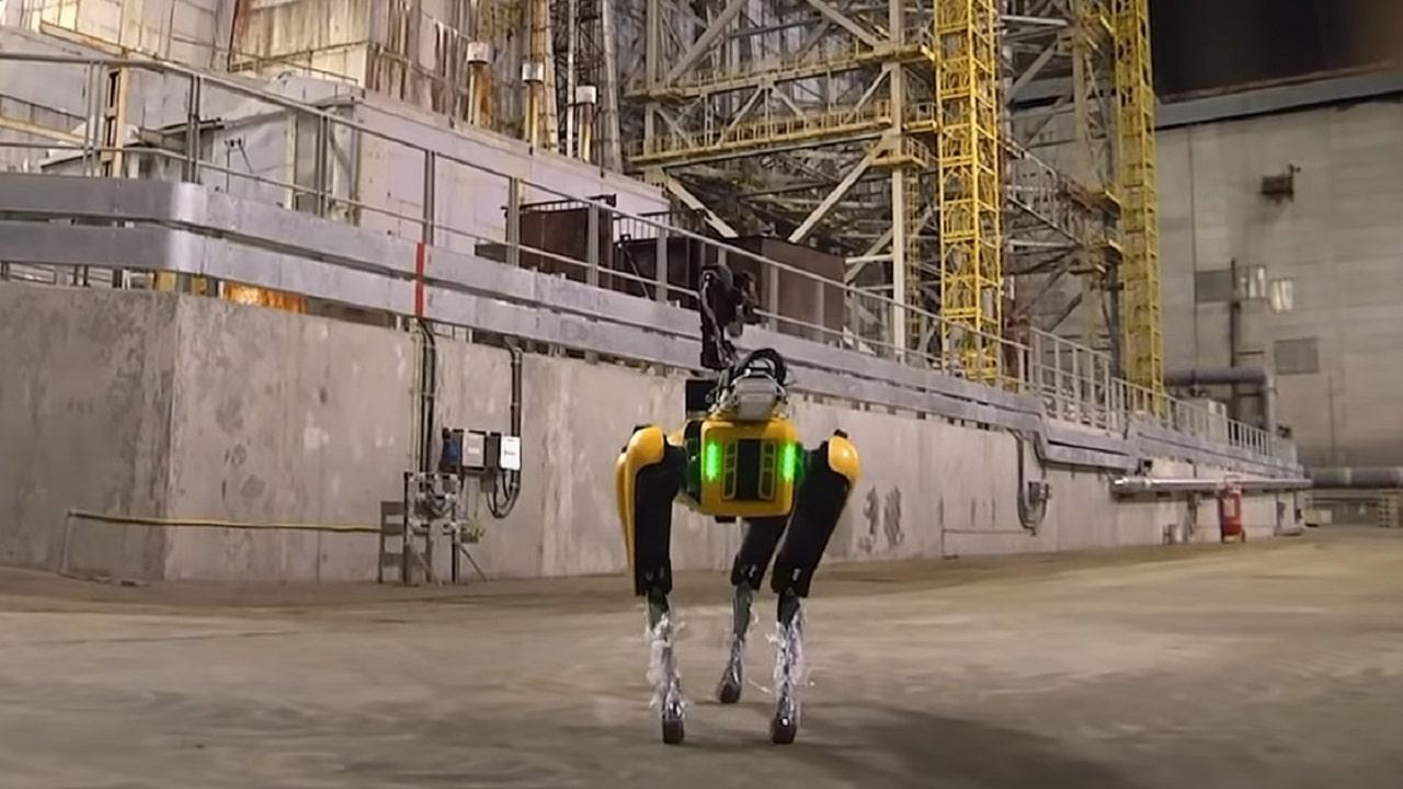 Il cane robot di Boston Dynamics va a Chernobyl thumbnail