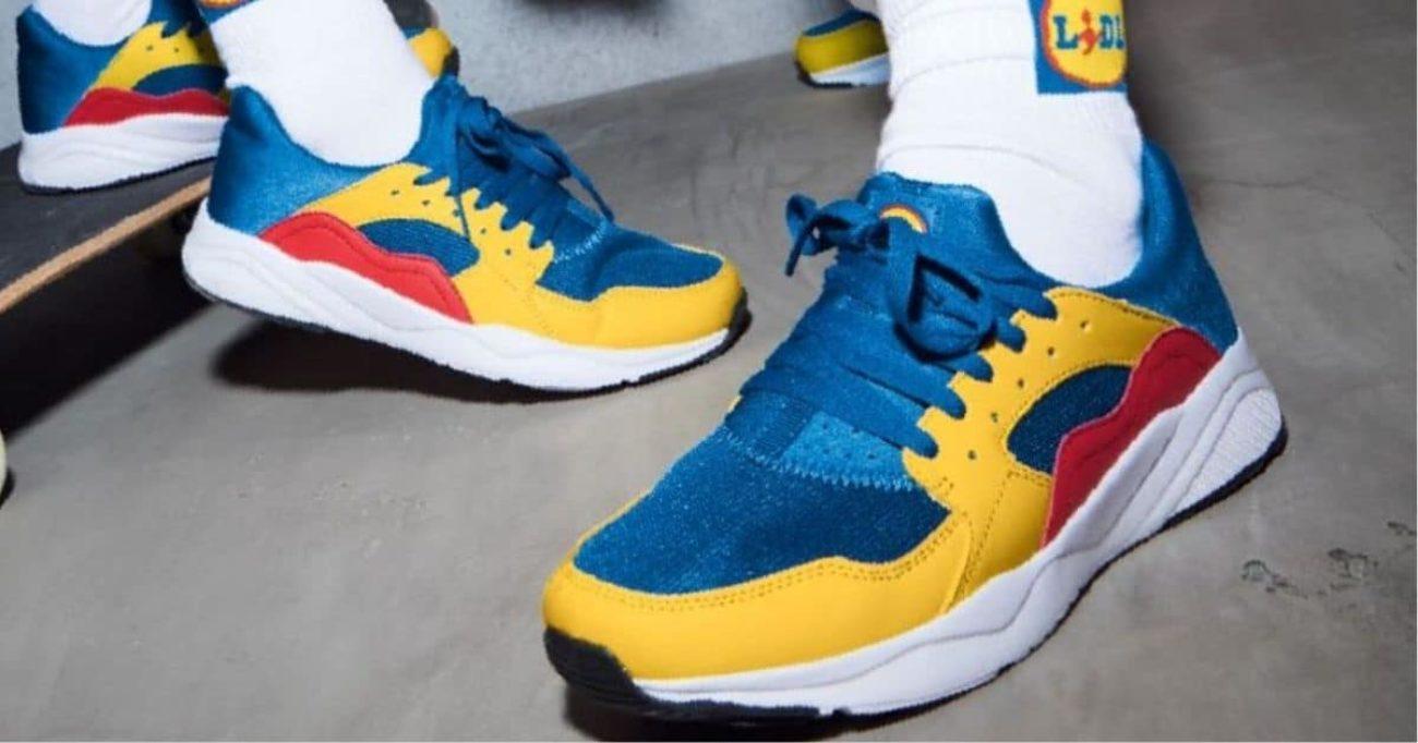 Lidl: scarpe, calzini e altri capi di abbigliamento a marchio Lidl sono ora disponibili in Italia thumbnail