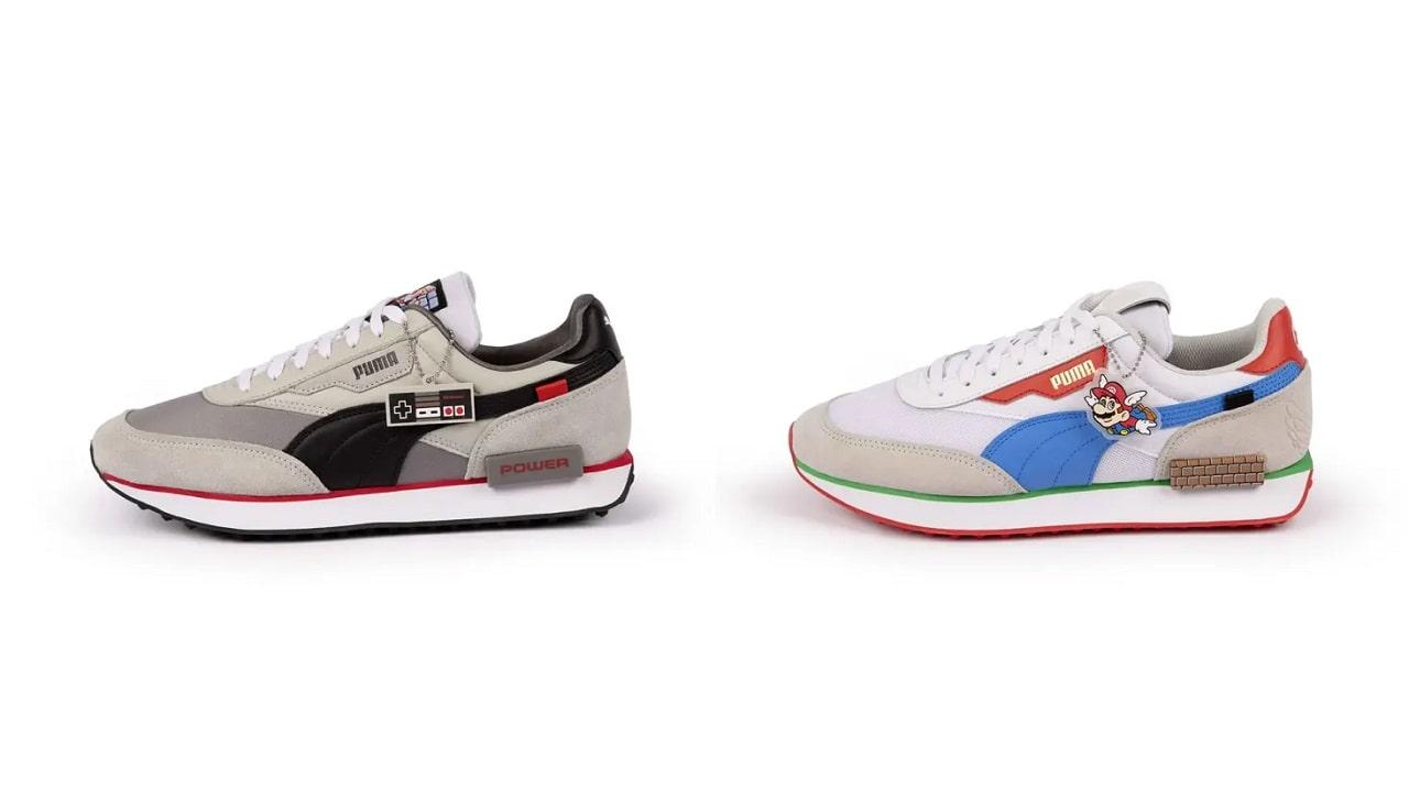 Puma e Nintendo presentano le nuove scarpe di Super Mario Bros thumbnail