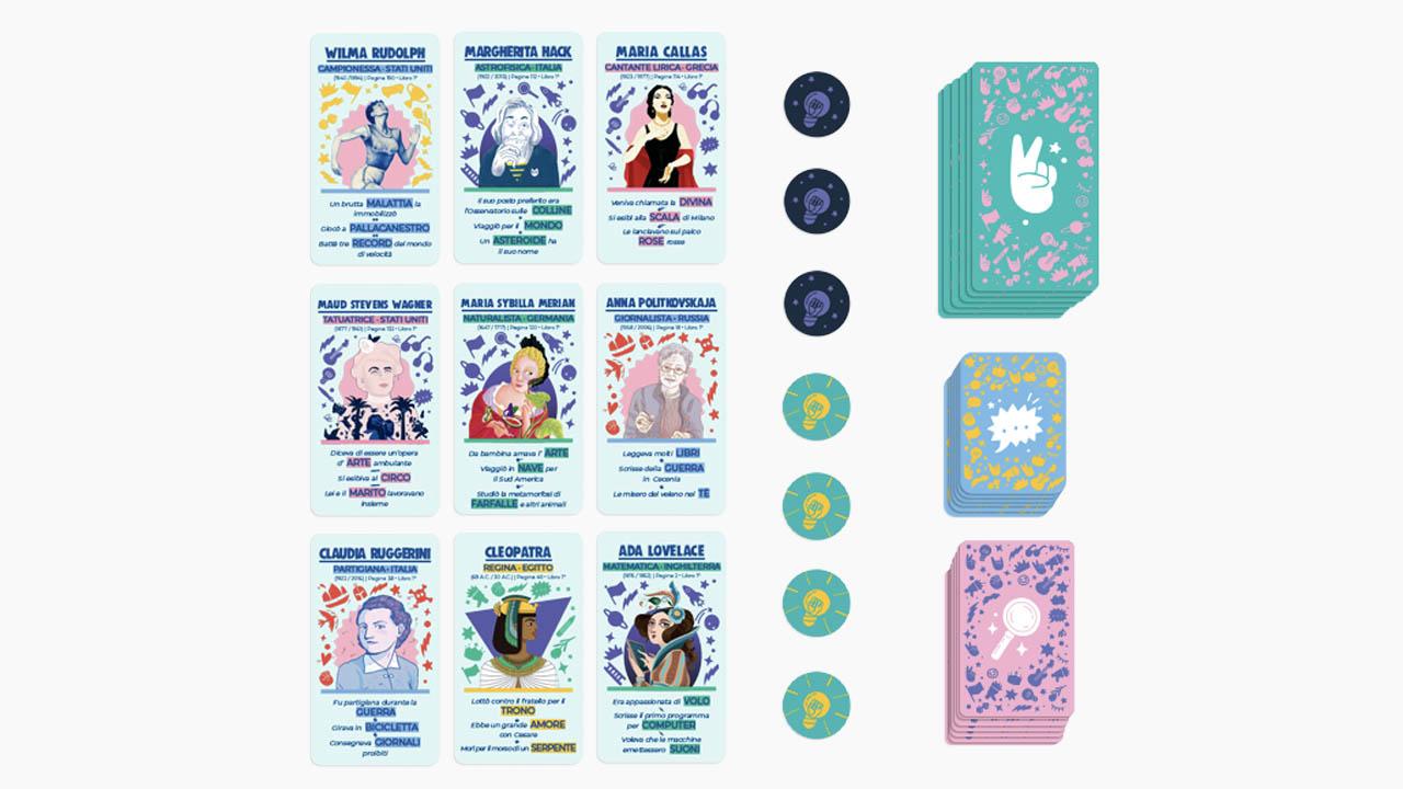 sogni per bambine ribelli carte