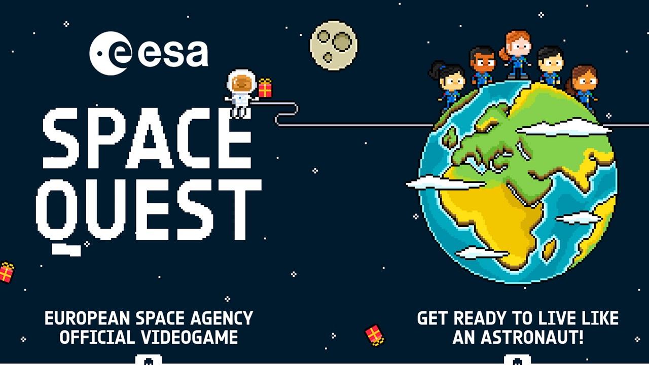 ESA Space Quest è il nuovo videogioco che vi fa esplorare lo spazio con stile thumbnail