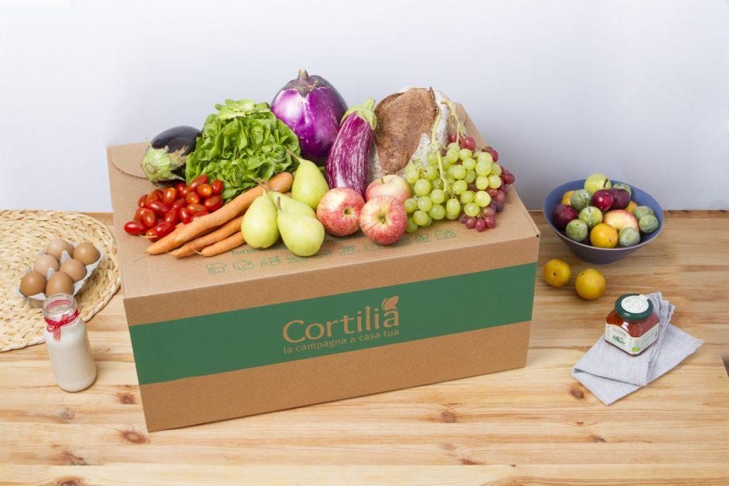 Spesa a casa Cortilia