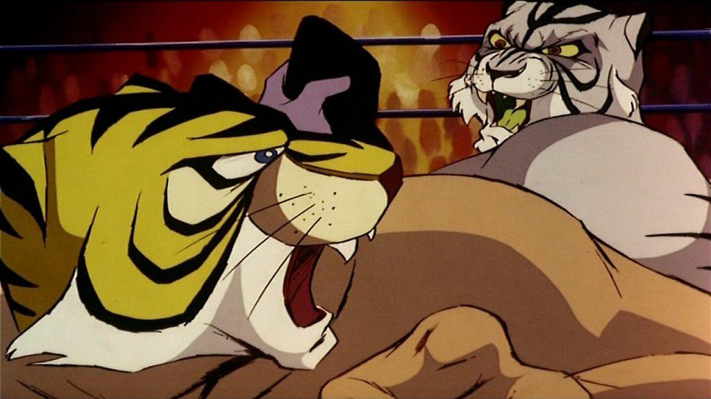 Uomo Tigre Combattimento