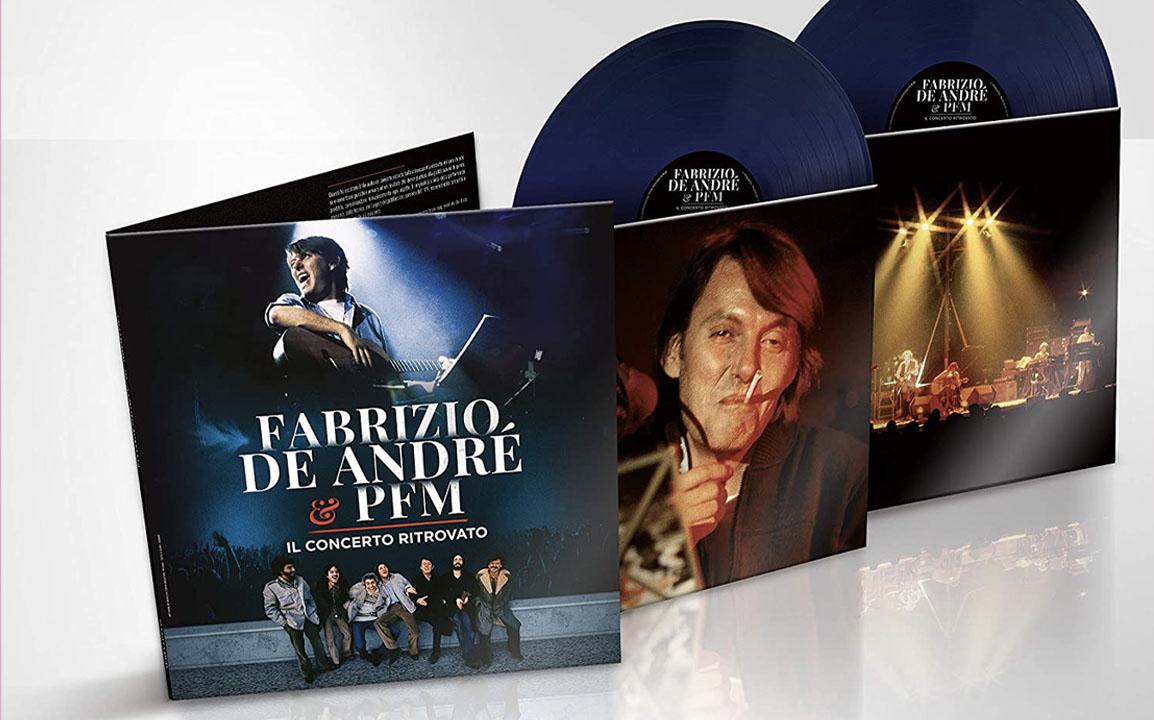vinile fabrizio de andré il concerto ritrovato Amazon Vinyl Week