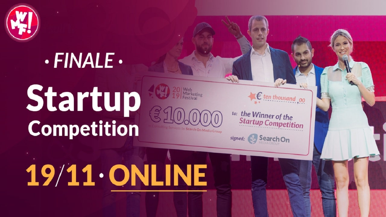 Annunciate le startup finaliste del Web Marketing Festival 2020 thumbnail