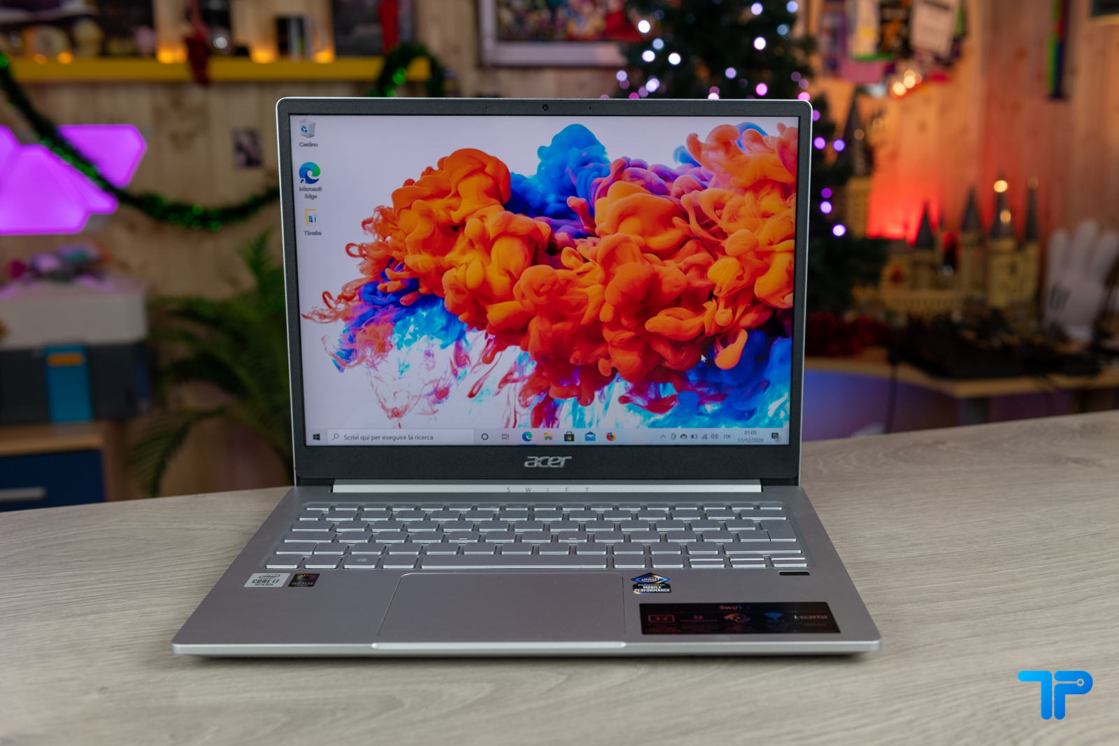 Acer Swift 3 2020 recensione display