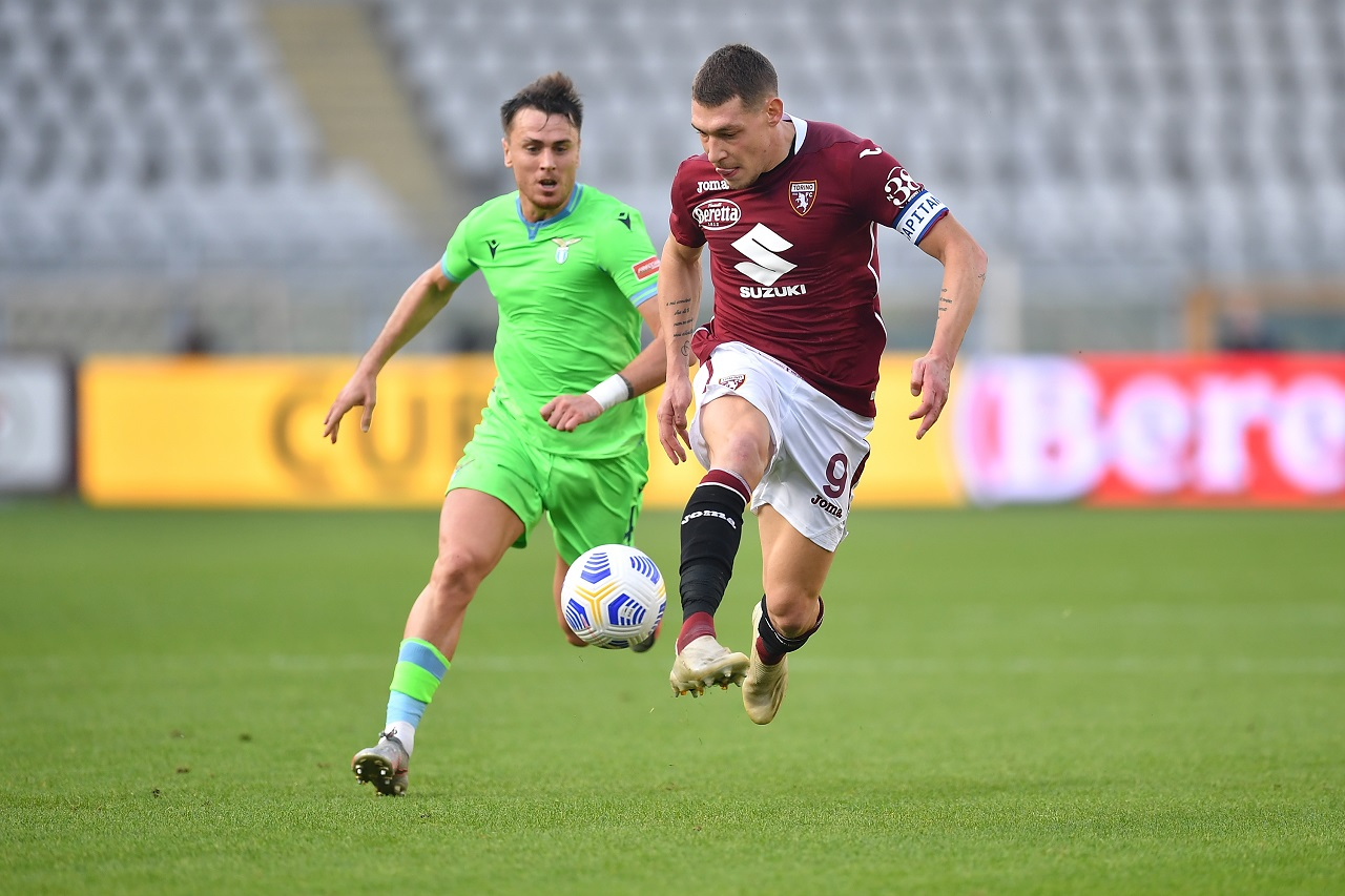 calcio in streaming Andrea Belotti