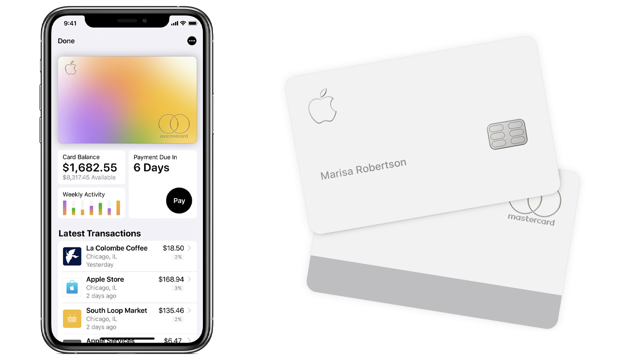 Apple Card stati uniti
