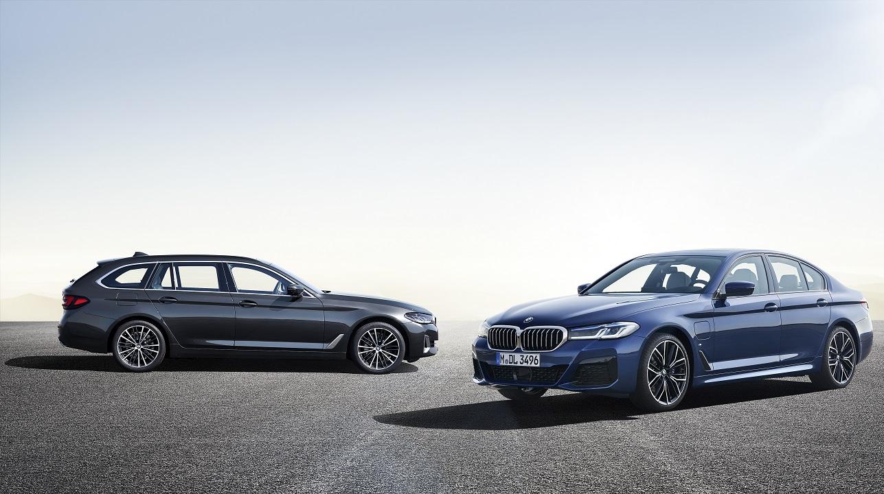 La nuova BMW Serie 5 ha 25 varianti elettrificate thumbnail
