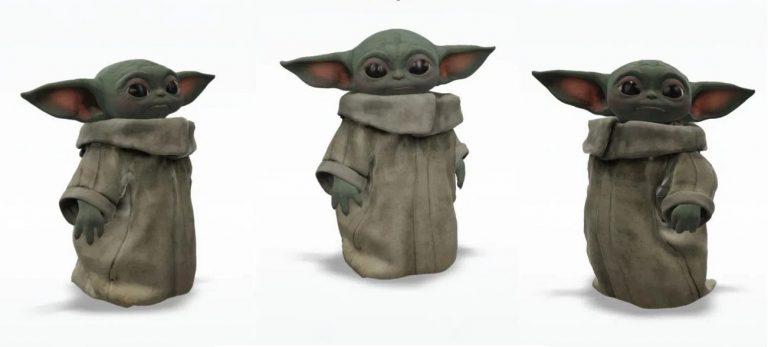 Baby Yoda 3D