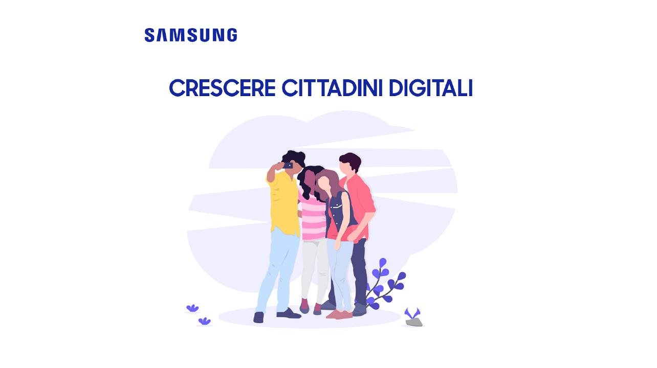 Samsung presenta il progetto Crescere Cittadini Digitali thumbnail