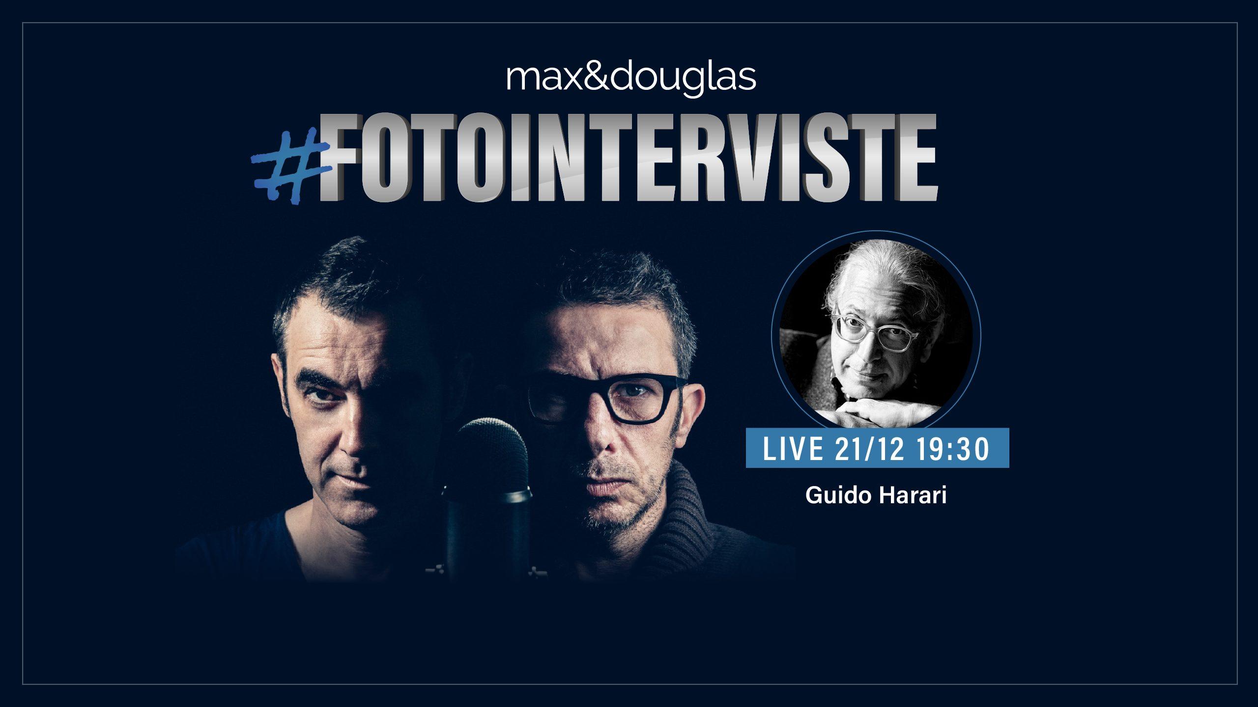 Arrivano le #fotointerviste live: il primo appuntamento è con Guido Harari thumbnail
