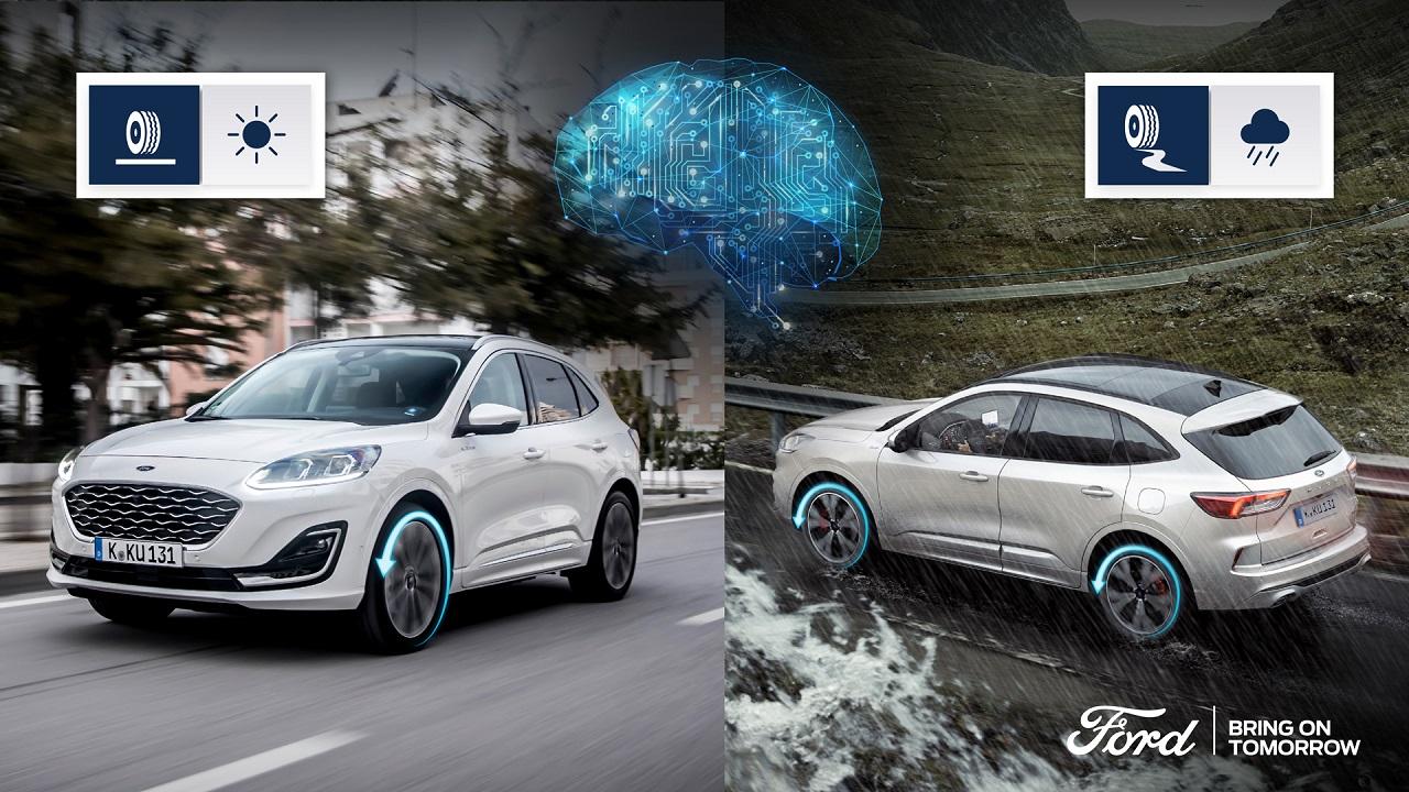 Ford Kuga Hybrid: più aderenza e meno consumi con l'IA thumbnail