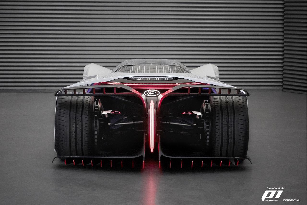 Fordzilla P1 posteriore