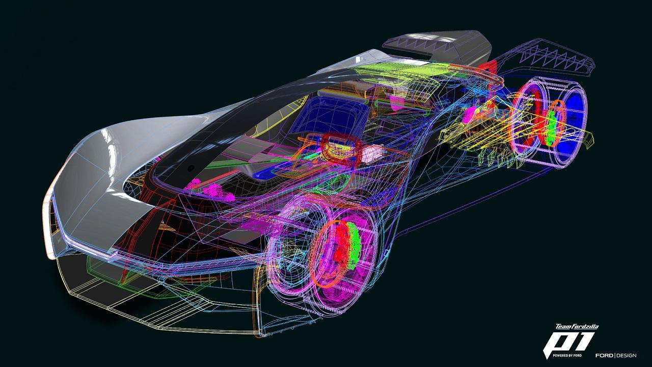 Fordzilla P1 progettazione
