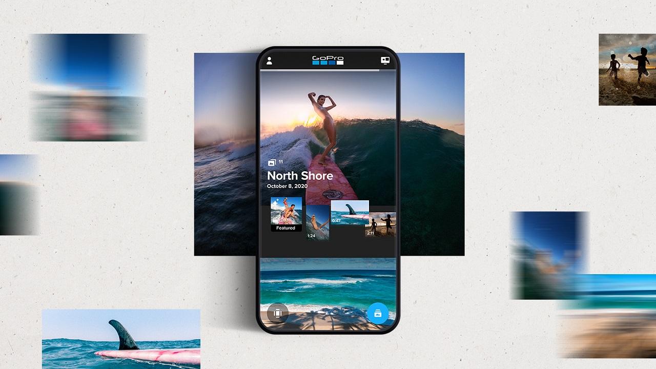 GoPro rinnova la sua app con la funzione Mural thumbnail