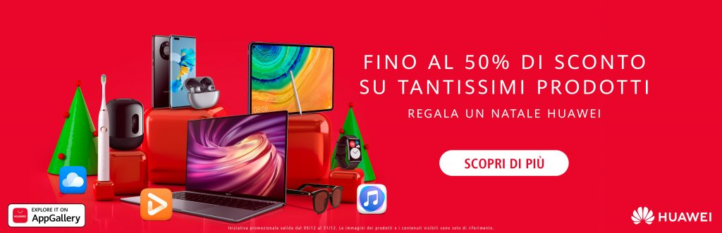 offerte Huawei Natale