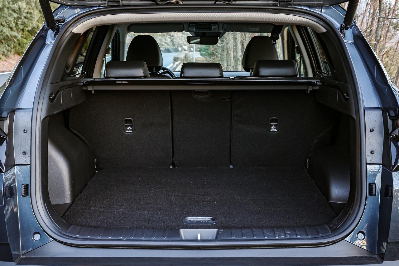 Hyundai Tucson 2021 bagagliaio