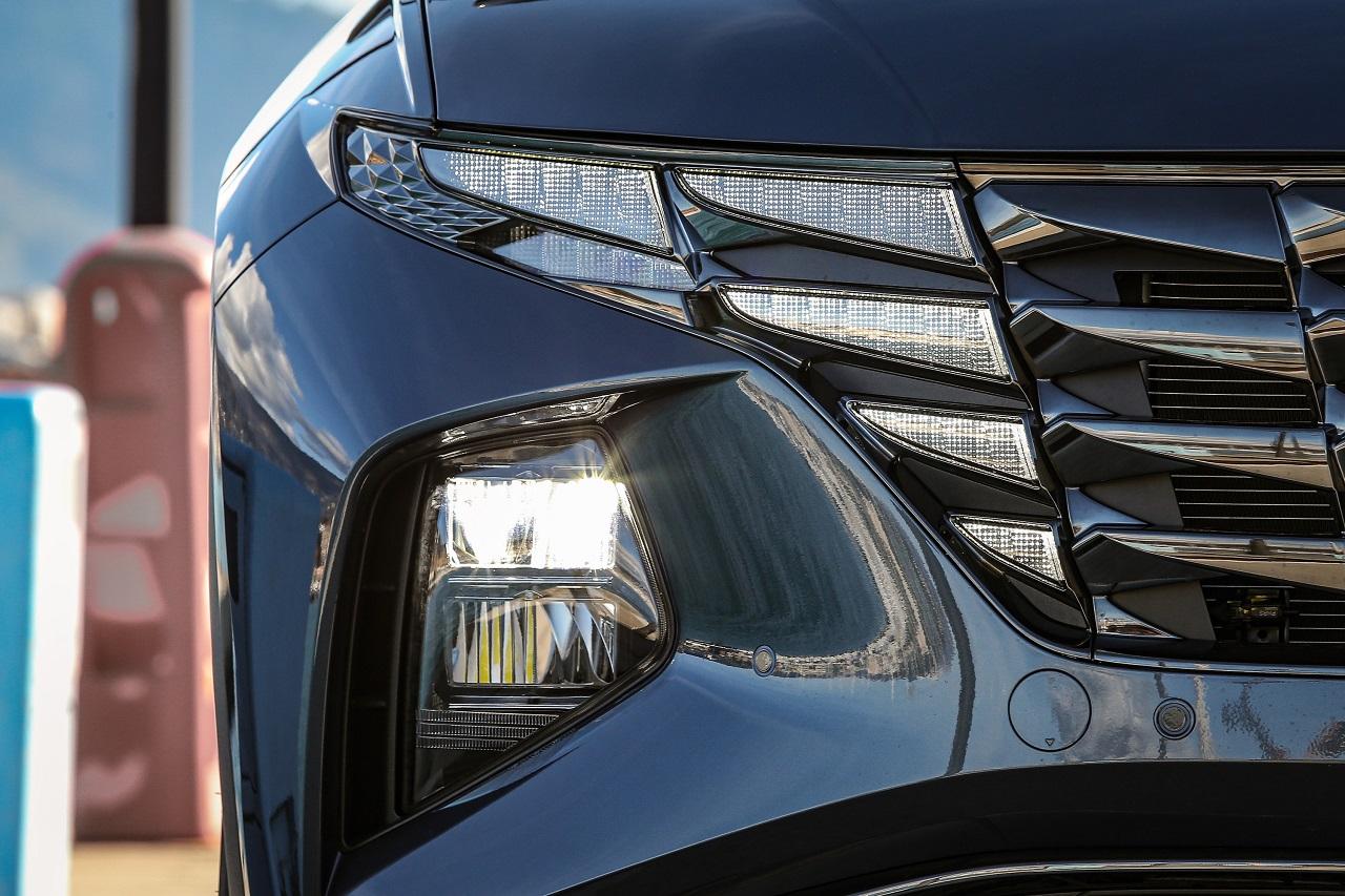 Hyundai Tucson 2021 fari